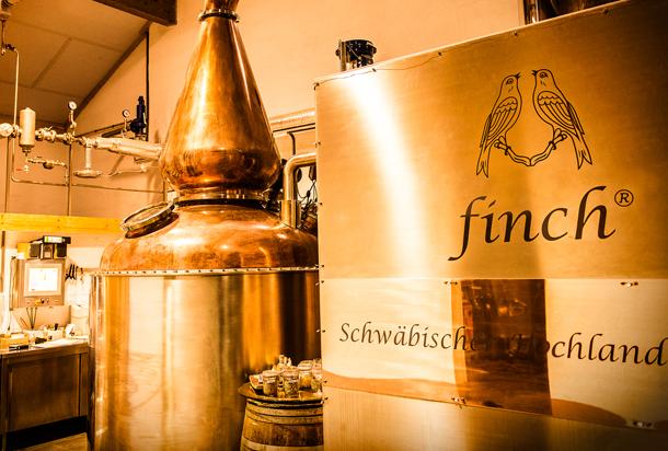 finch® Whisky Verschlussbrennerei