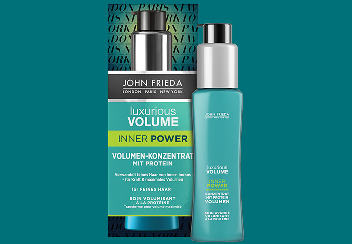 Luxurious Volume® Inner Power Volumen-Konzentrat mit Protein von John Frieda