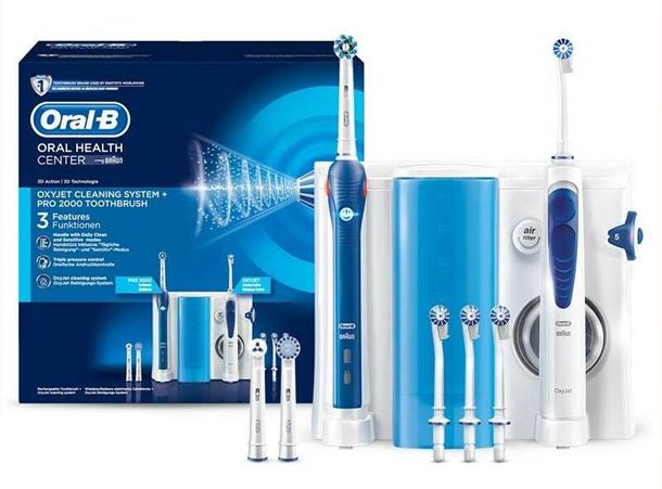 Der Gewinn: Oral-B Center – OxyJet Reinigungssystem