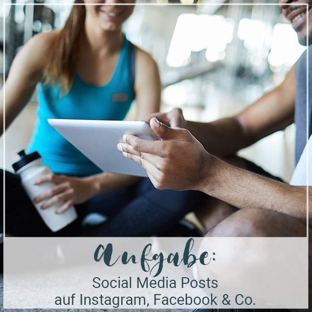 Social Media Posts zum ERDINGER Alkoholfrei Sommerfit Programm