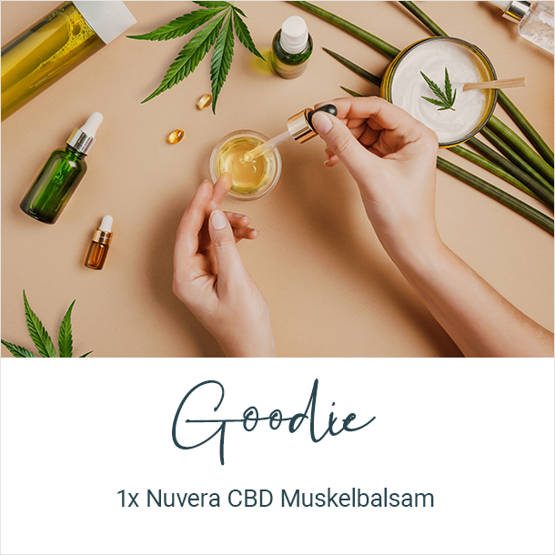 Goodie: 1x Nuvera Muskelbalsam