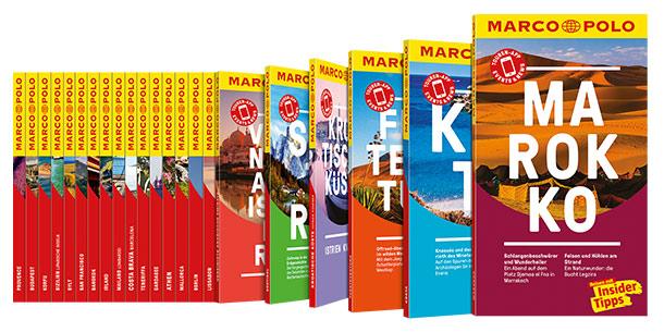 Die ganze Vielfalt der MARCO POLO Reiseführer