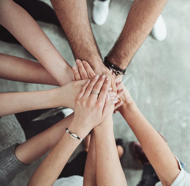 gemeinsam stärker, Zusammenhalt