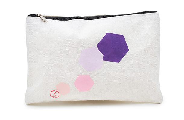 prettique Beauty Bag small Graphic-Print