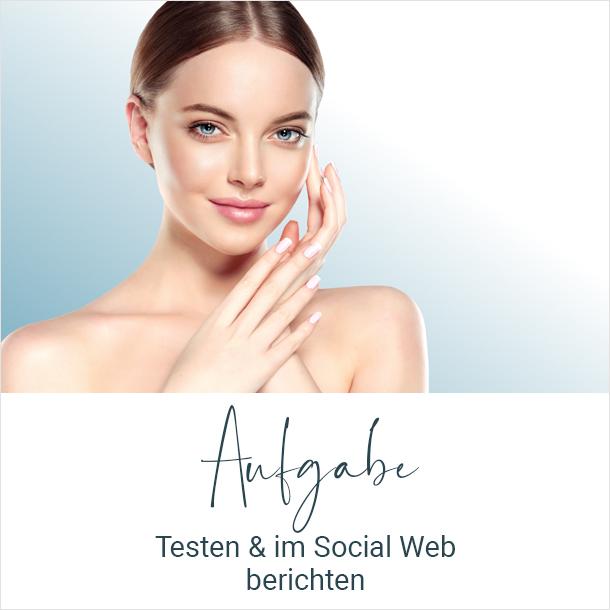 Aufgabe: Testen & im Social Web berichten