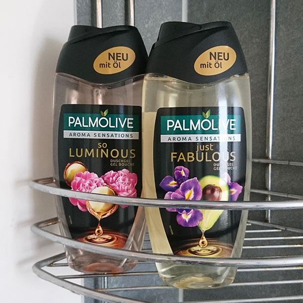 Palmolive Aroma Sensations in der Dusche