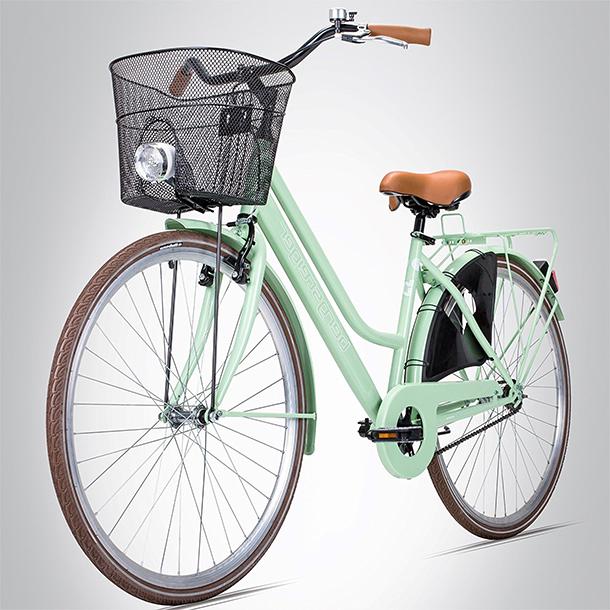 Stylisches Hollandrad im Retro-Design