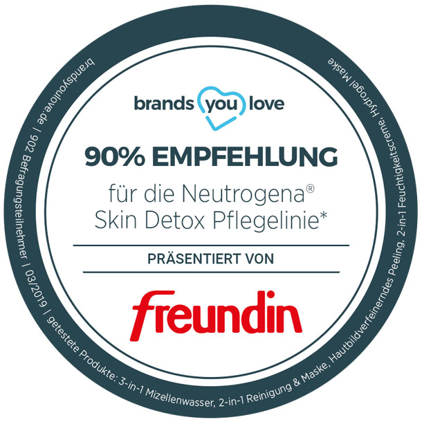brands you love-Siegel für Neutrogena