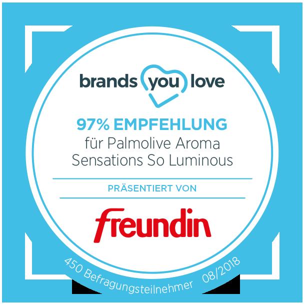 brands you love-Siegel für Palmolive Aroma Sensations So Luminous