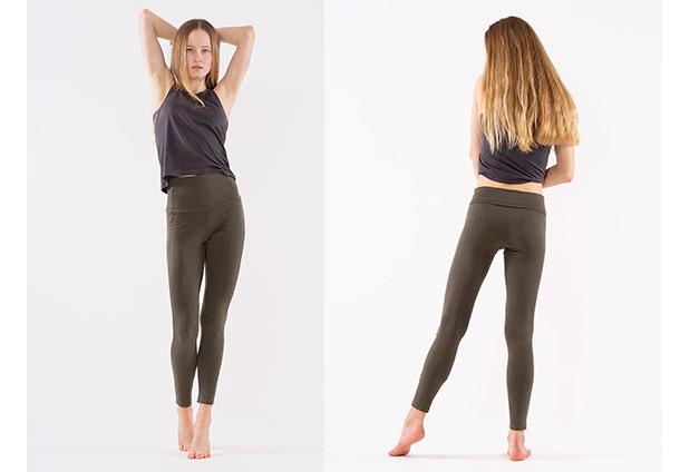 Yoga Leggings High - OLIVE