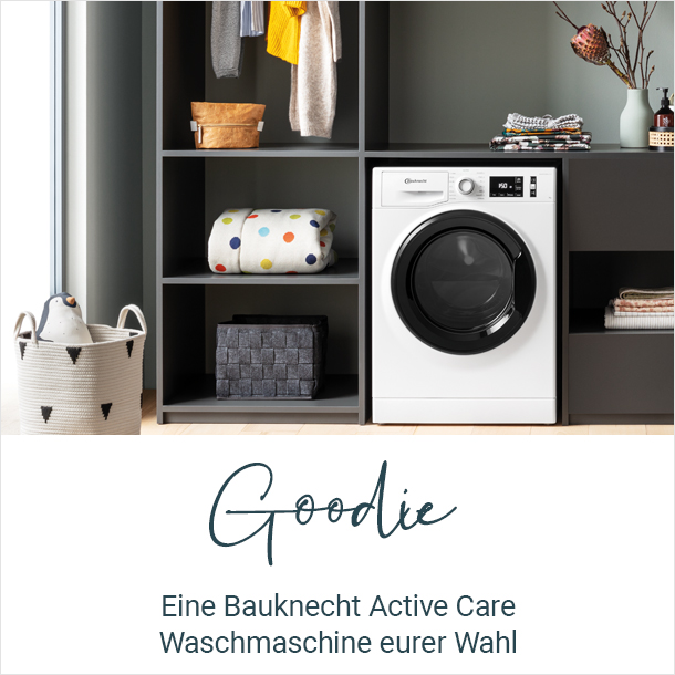 Goodie: Eine Bauknecht Active Care Waschmaschine