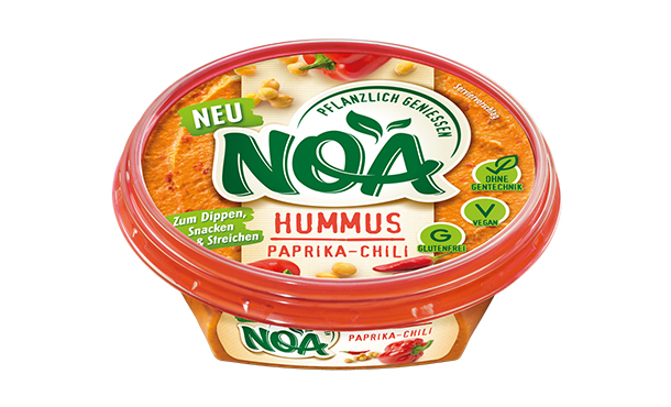 NOA AufstrichHummus Paprika-Chili