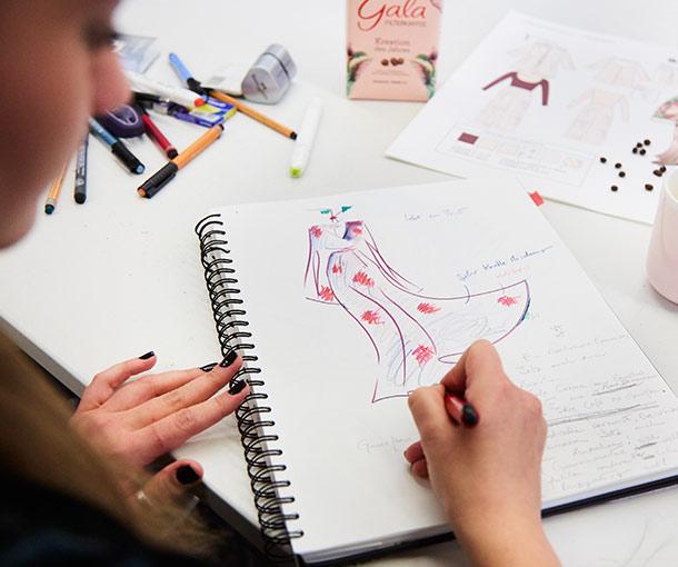 Die Gala Kreation des Jahres als Inspiration für Nachwuchsdesigner