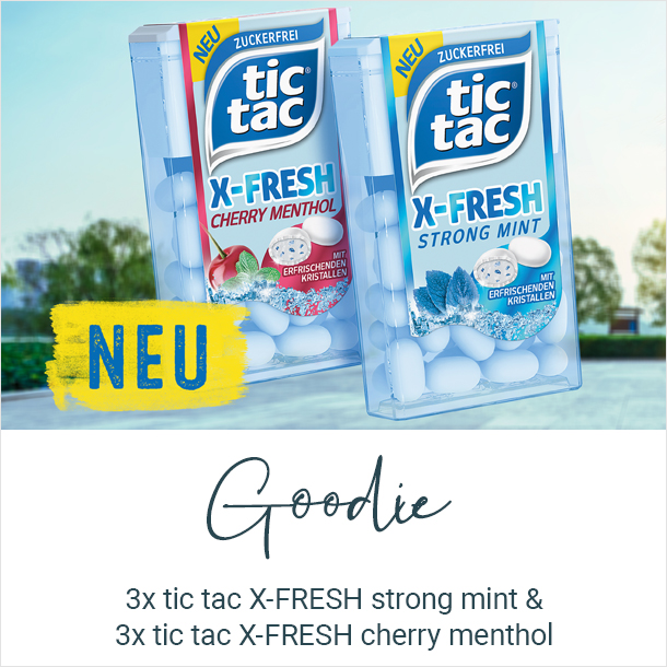 tic tac X-FRESH Goodie
