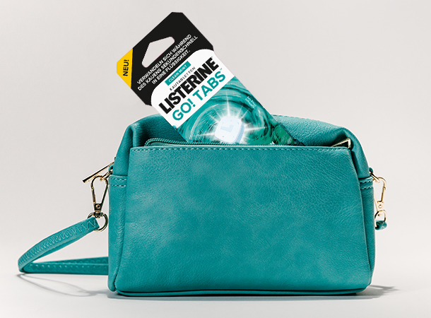 LISTERINE® GO! Tabs™ in Tasche