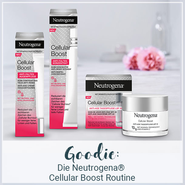 Die Neutrogena® Cellular Boost Routine