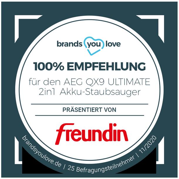 brands you love-Siegel AEG QX9 ULTIMATE