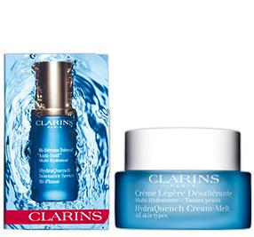 Die Clarins Multi-Hydratante Pflegelinie
