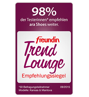 freundin Trend Lounge-Siegel für ara Shoes