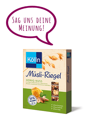 Kölln Müsli-Riegel Erfahrungen