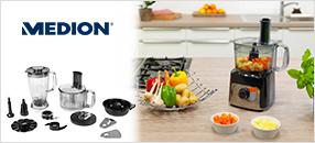 Alle Tester empfehlen die Küchenmaschine MD 15482 – DEN Alrounder von MEDION®