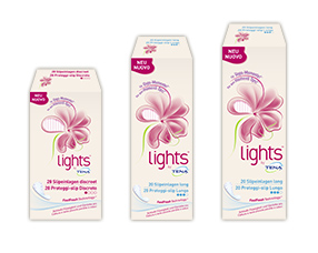 Produktlinie lights by TENA – für mehr Sicherheit bei sensibler Blase