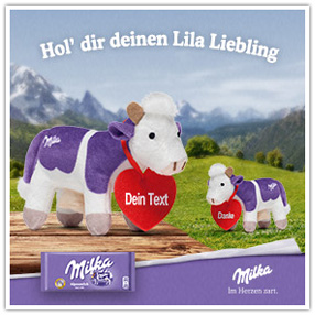 Milka Lila Lieblinge