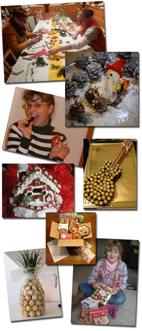 Kreativ-Ideen mit den Spezialitäten von Ferrero der Lisa freundeskreis Tester