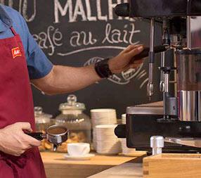 Bei Kaffeezubereitung auf Mahlgrad achten