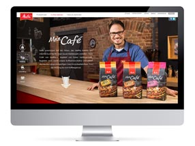 Webseite Melitta