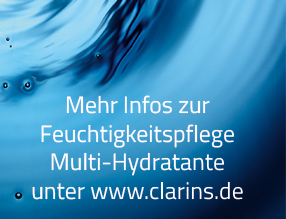 Mehr Infos unter Clarins.de
