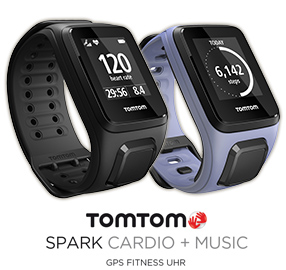 tomtom spark cardio music acitivy tracker pulsuhr ohne brustgurt und kabellos musik h ren. Black Bedroom Furniture Sets. Home Design Ideas