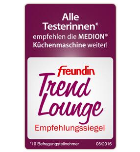 freundin Trend Lounge siegel für MEDION® Küchenmaschine