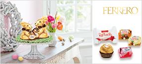 Frühlingserwachen mit den Spezialitäten von Ferrero