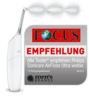 men's brands Siegel für Philips Sonicare AirFloss Ultra