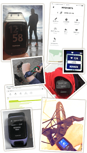 Tomtom Fitnessuhren: Bilder vom Test
