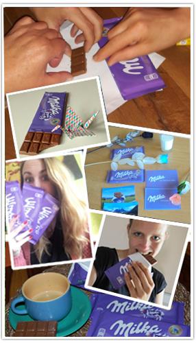 Die Milka Alpenmilch Schokolade im Test