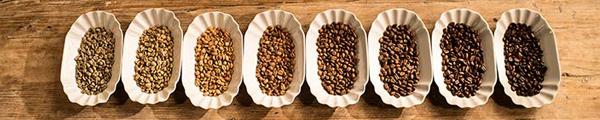 Kaffeeröstungsgrade
