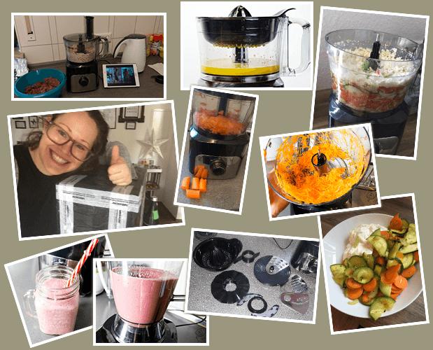 MEDION Küchenmaschine Bilder vom Test