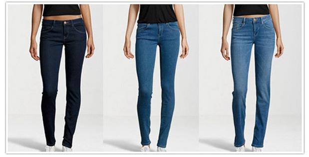Jeans mit optimaler Passform