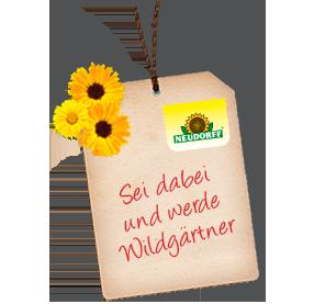 Werde Wildgärtner mit Neudorff