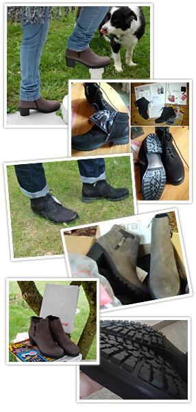 Bilder vom ara Shoes-Test