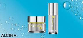 Lösch den Durst deiner Haut mit HYALURON 2.0 von Alcina!