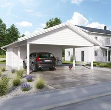Carport Jämför 20 Carports Med Förråd För 1 Eller 2 Bilar Bygg Se