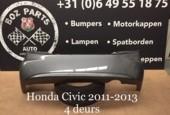 Honda Civic achterbumper 2011-2013 origineel