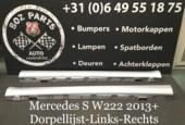 Mercedes S klasse W222 DORPEL LIJST SIDESKIRT 2013-2020