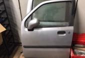 Portier linksvoor grijs 4-deurs Opel Agila a (H00) 2001