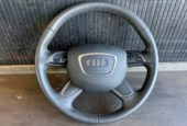 Audi A1 Stuur Aangepast A2 Upgrade Airbag Leder Stuur Leer