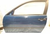 PortierBMW 3-serie Compact E46 316ti ('01-'05)linksvoor blauw 3-deurs