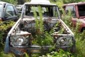 Laatste restauratie onderd. Toyota Land Cruiser Hardtop 85>